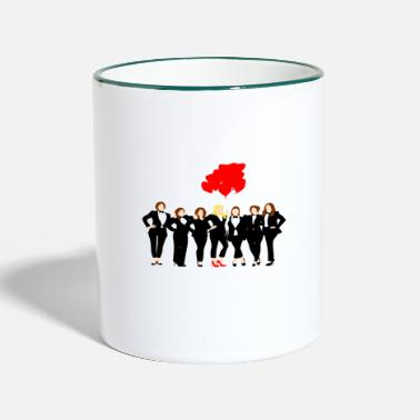 Bridesquat Junggesellinenabschied - Two-Tone Mug