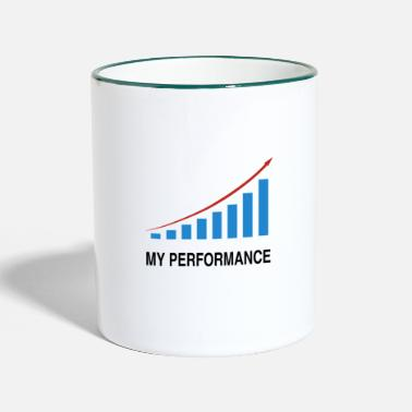 Performance Mes performances commerciales - Mug bicolore