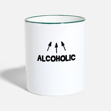 Alcohol Alcoholic alcohol - Two-Tone Mug