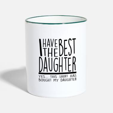 Dad Best Dad, dad, dad - Two-Tone Mug