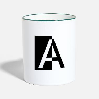 Ángel To 3 - Two-Tone Mug