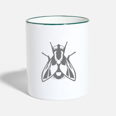 Fly fly insect 1112 - Two-Tone Mug