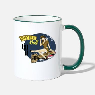 War Bomber doll - Two-Tone Mug