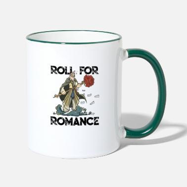 Dice RPG RPG Gift Valentine's Day Magician Gamer - Two-Tone Mug