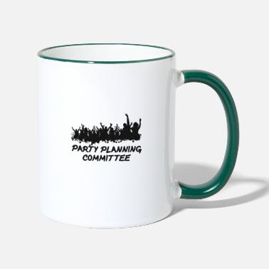 Word Comedy Party Party planning committee - Two-Tone Mug