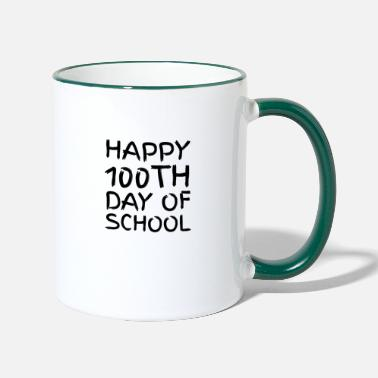 Short Speech On Teachers Day In English 100th day of School Novelty Gifts - Two-Tone Mug