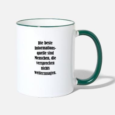 Cool Sayings cool sayings - Two-Tone Mug