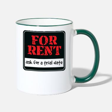 Rent For rent - Two-Tone Mug