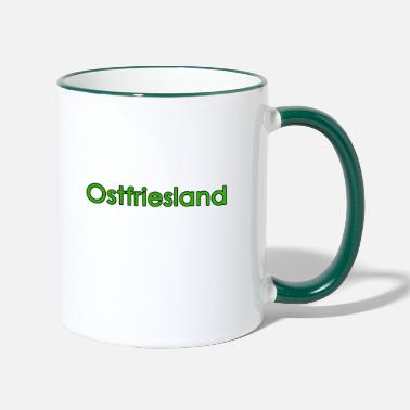 East Frisia East Frisia _green - Two-Tone Mug