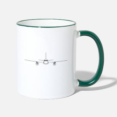 Airplane airplane - Two-Tone Mug