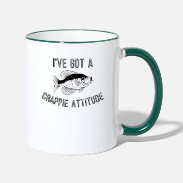 Air Funny Fishing I've Got A Crappie Attitude product - Two-Tone Mug