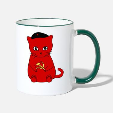 Communisme Kittens voor communisme! - Mok tweekleurig