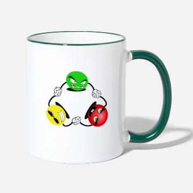 Emotion emotes - Two-Tone Mug