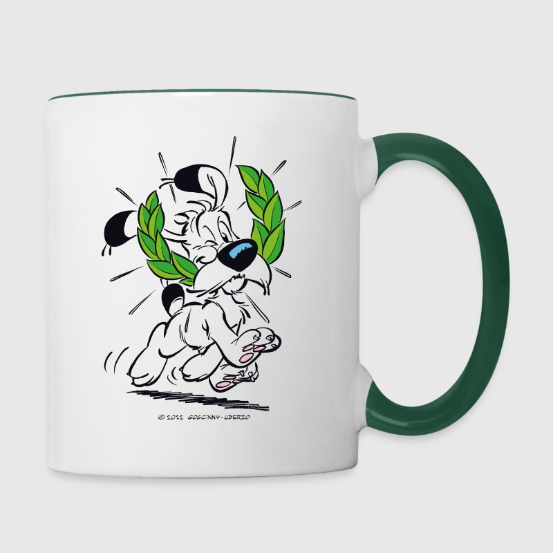 Asterix & Obelix Dogmatix Laurel Wreath - Taza en dos colores