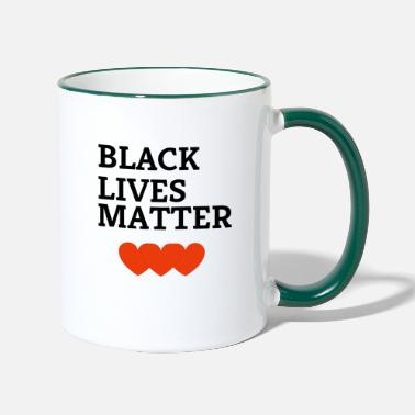 Occupy black lives matter - Tasse zweifarbig