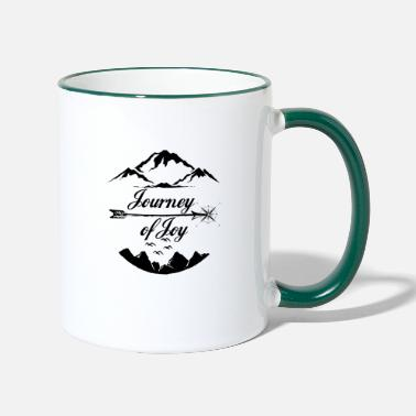 Travel Journey of Joy - Two-Tone Mug