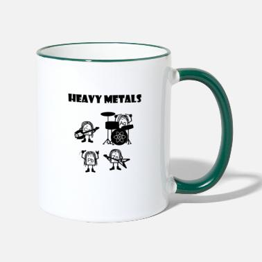 Heavy Heavy metals, heavy metals that rock - Contrasting Mug