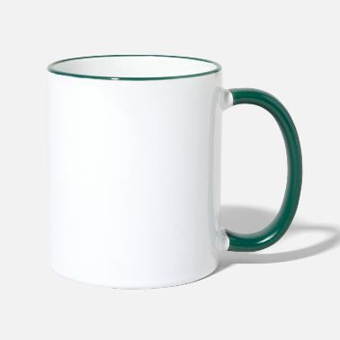 Gamer école secondaire - Mug bicolore