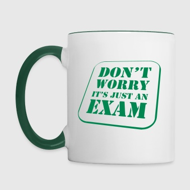 Worry Exam - Mug contrasté