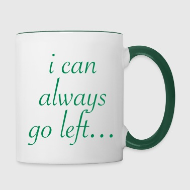 If things don't go right… - Mug contrasté