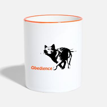 Obedience Obedience Cattledog - Two-Tone Mug