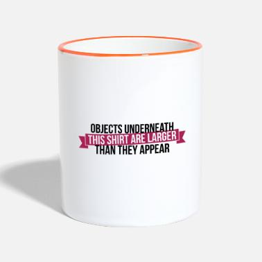 Gogo Objects underneath are larger - Contrasting Mug