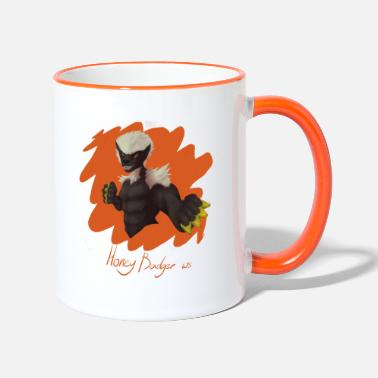 Honey Badger ws merchandise - Two-Tone Mug