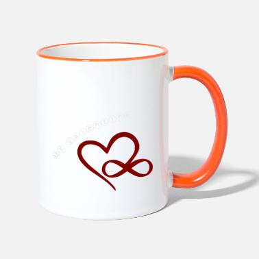 ValentinesDay Valentine's Day Love Love - Two-Tone Mug