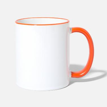 Je suis intelligent - Mug bicolore