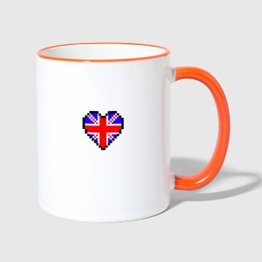 Made in UK - Tasse zweifarbig