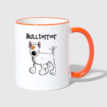 Sweet Bull Terrier - Dog - Dogs - Contrasting Mug