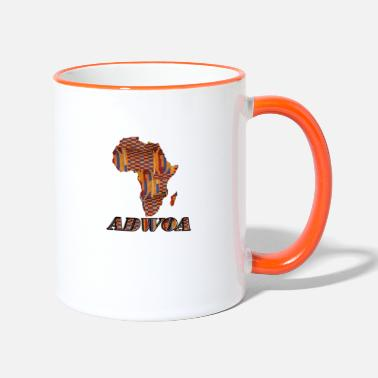 Adwoa Call me by my name ! ADWOA Ghana - Monday. - Two-Tone Mug