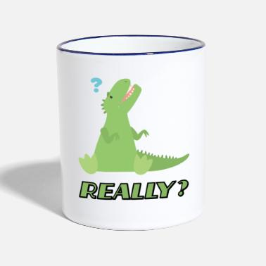 Question question - Mug bicolore