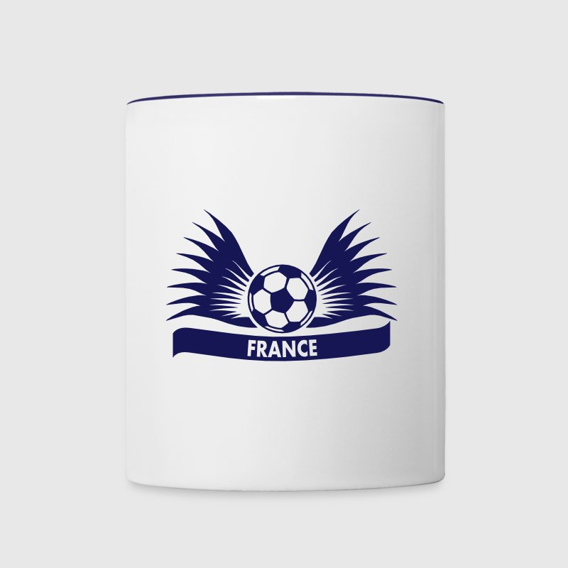 france / Équipe de France football - Mug contrasté