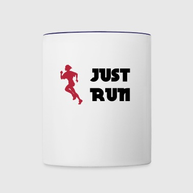 Just run - Mok tweekleurig
