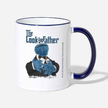 Sesame Street Sesamstraße The Cookiefather - Tasse zweifarbig