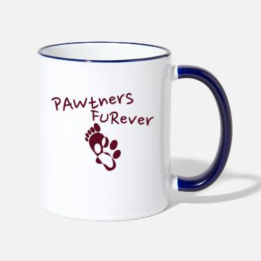 Pawtner's Furever! (Partners Forever) - Dream Team - Tazza bicolor