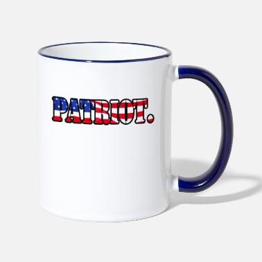 Patriote Patriot. - Mug bicolore