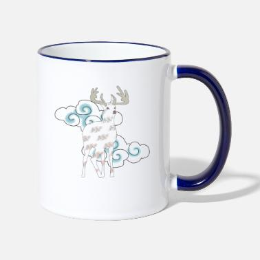 Mythical Mythical deer - Two-Tone Mug