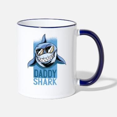 Maennerabend Daddy Shark - Tazza bicolor