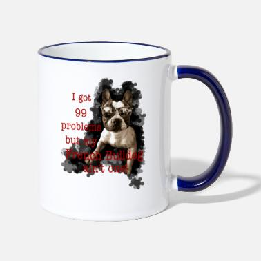 No Problems - Tasse zweifarbig