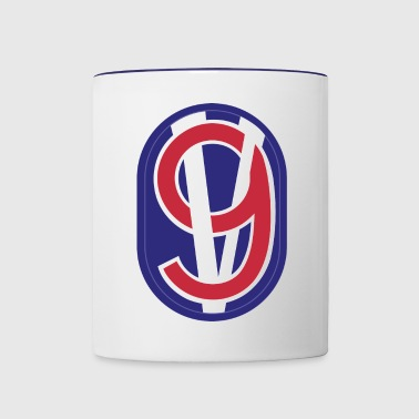 95th Training Division - Mug contrasté