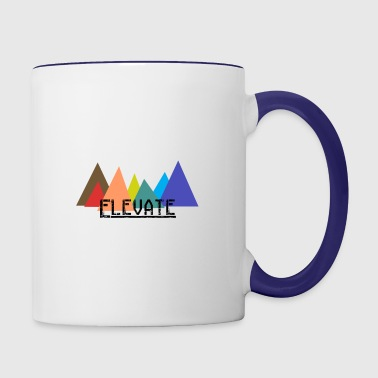 Elevated to the Mountains - Contrasting Mug