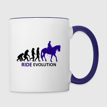 ++ ++ Ride Evolution - Mok tweekleurig