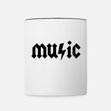 Metal Music Heavy Metal Music - Contrasting Mug