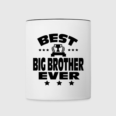 BEST BIG BROTHER EVER - Contrasting Mug