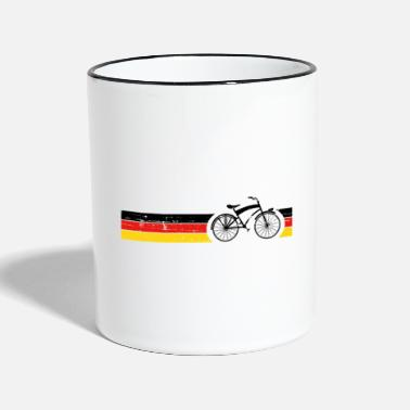National Vélo National Colors National Germany Gift - Mug bicolore