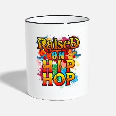 Classic Raised On Hip Hop - Two-Tone Mug