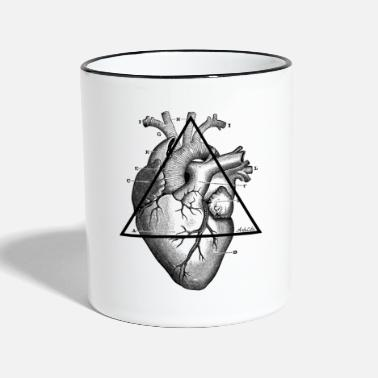 My Heart My Heart, my Heart! - Two-Tone Mug