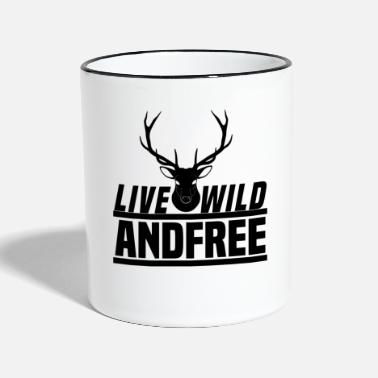 Forest Dweller forest dwellers - Two-Tone Mug